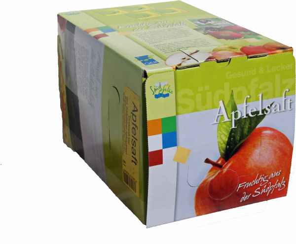 5 l Bag in Box Apfelsaft naturtrüb